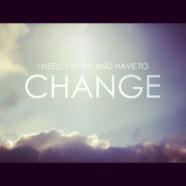 You Can Change the World…