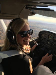 heather-in-the-cockpit-flying